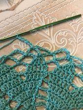 Photo of Gehäkeltes Kaufnetz mit Herzsohle – Häkeln – #Einkaufsnetz # Gehäkeltes …, #Einkaufsn …