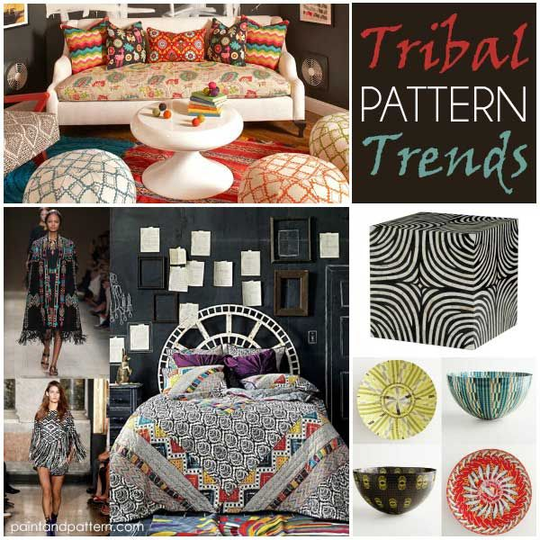 Tribal Patterns Take Interiors By Storm