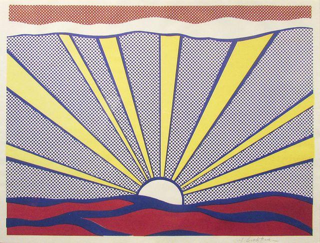 Roy Lichtenstein, 'Sunrise,' 1965, Taglialatella Galleries