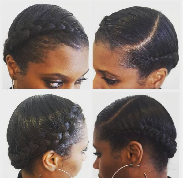 11 Crown Braid Styles Perfect For Spring Protective Styling Gallery Black Hair Information Braids For Black Hair Natural Hair Styles Crown Hairstyles