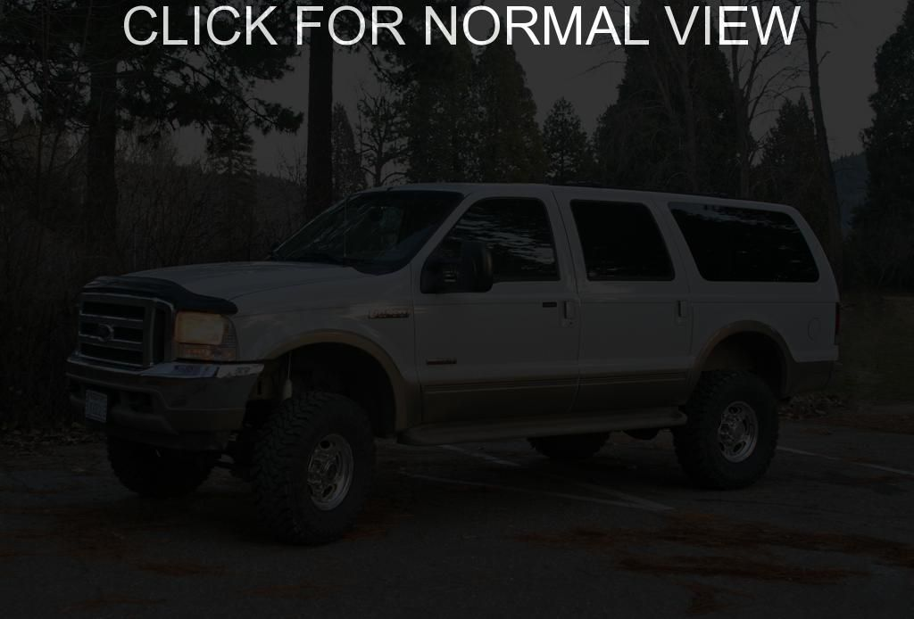 ford excursion 7.3 Red