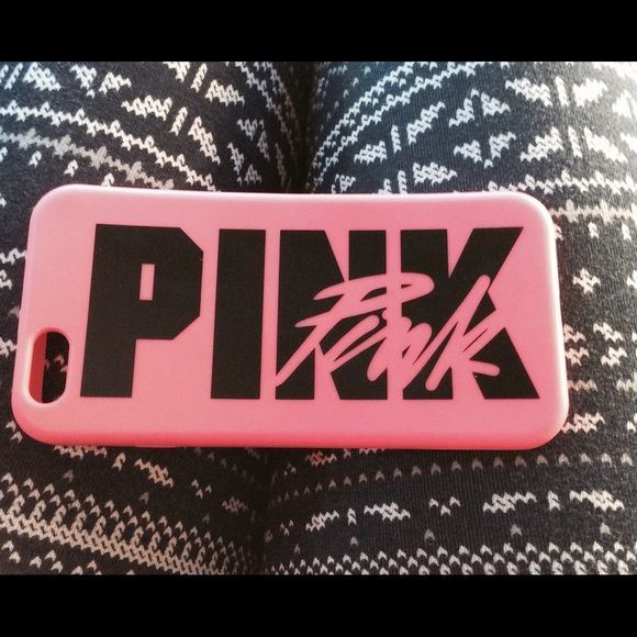 Iphone 6 vs pink phone case perfect condition pink for My secret case srl