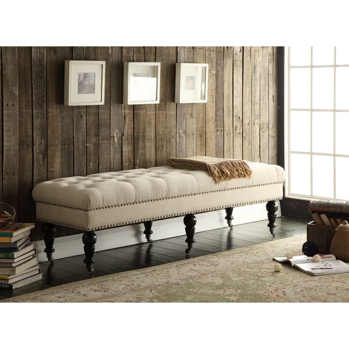 Harting Upholstered Bench In 2021 Upholstered Bench Upholstered Storage Bench Furniture