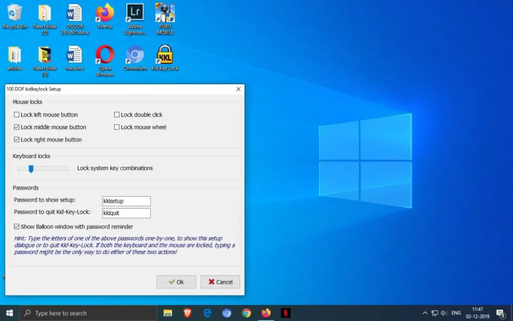 How to Lock Keyboard in Windows 8 to Prevent Keystrokes