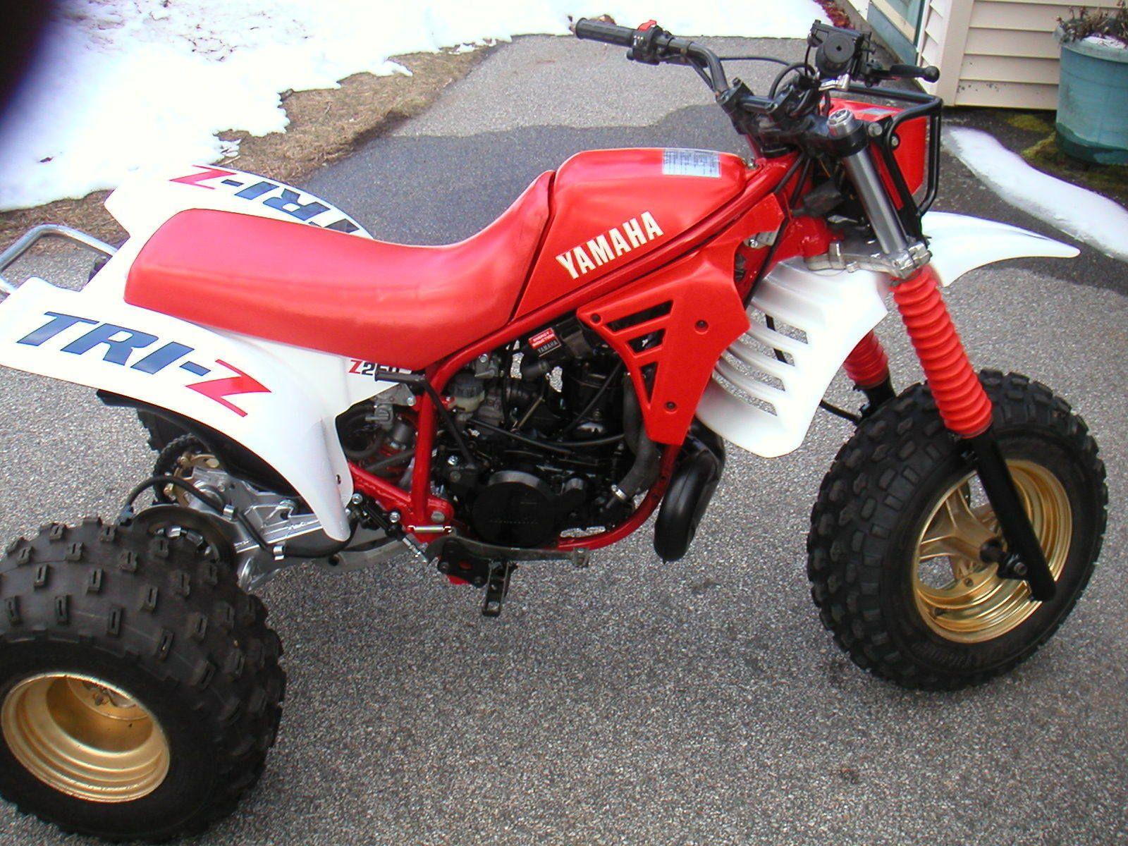 Yamaha Tri Z 250 Atc Trike Motorcycle Dirtbikes Atc