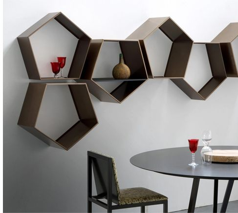 Zeus Penta Rack Small Shelf Black Made In Design Uk Shelves Small Shelves Rack Design