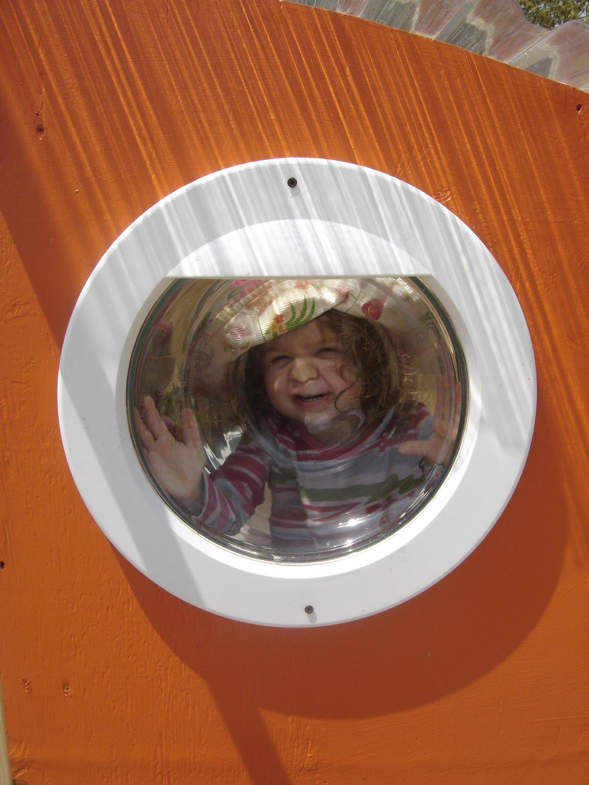 Recycled Front Loader Washing Machine Window For The