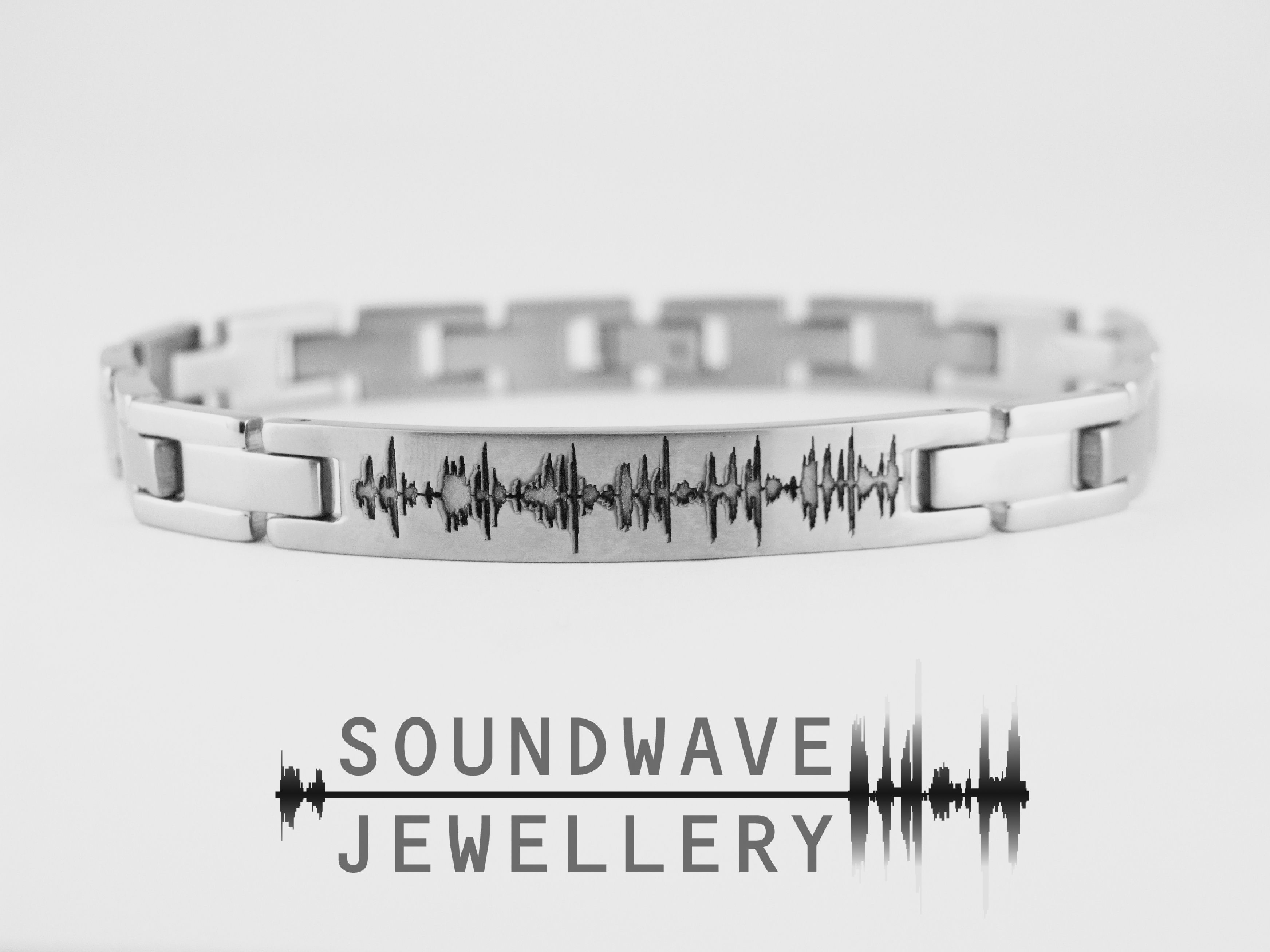 Custom Soundwave Bracelet Soundwavejewellery Is A Unique Way To Express Yourself Record Your Own Personal Message Choose Favorite Song Or An