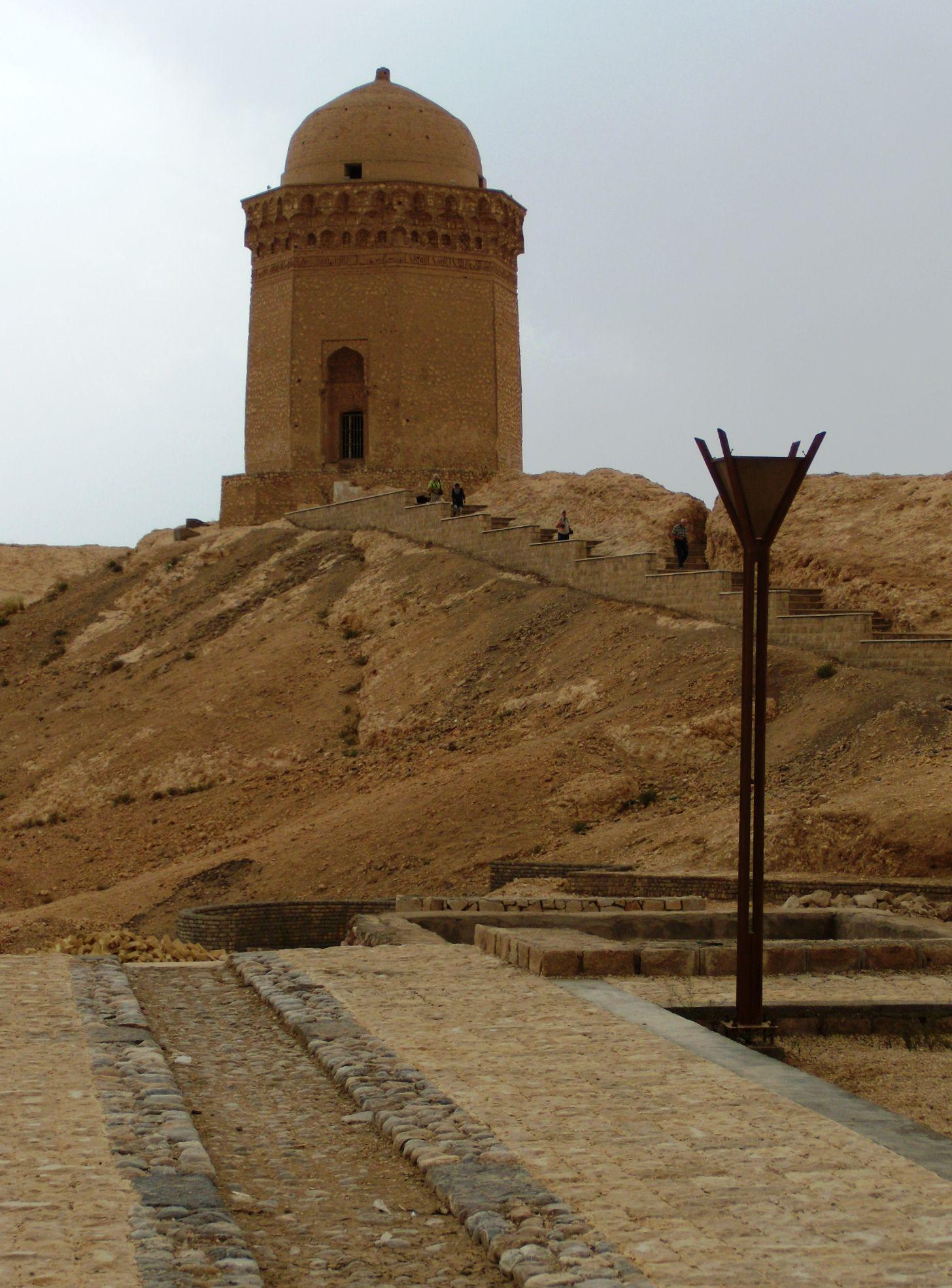 Gombad-e Ali, death tower 11th century