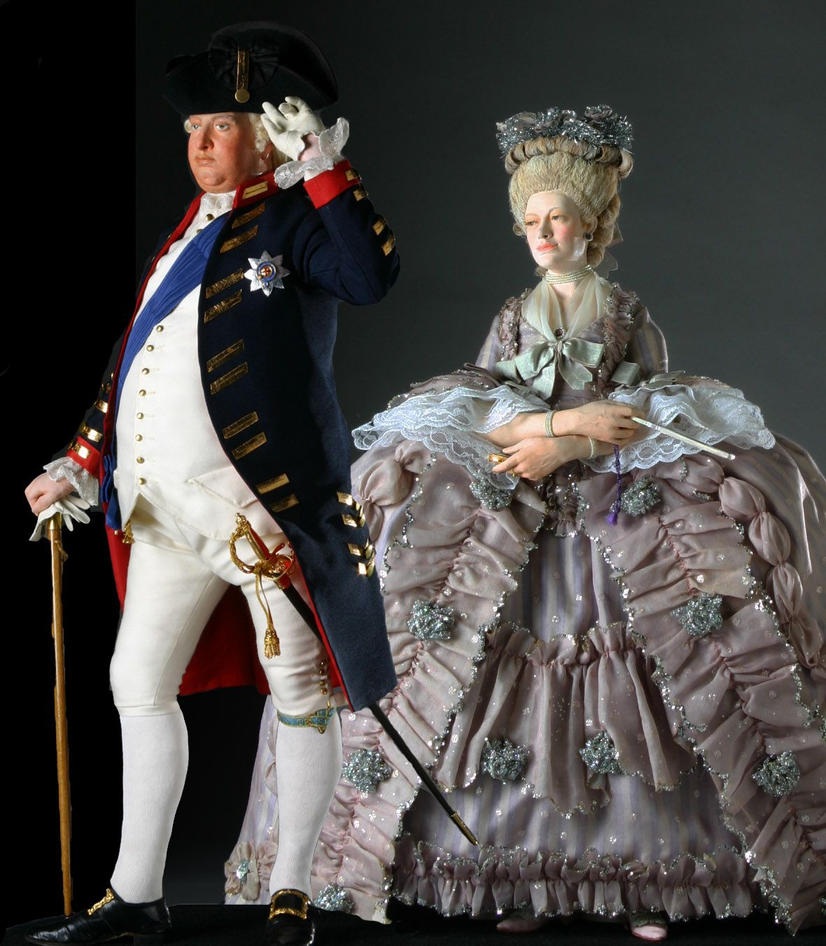 Historical Figures® News King George III gets a Young Queen Charlotte Sophia & Historical Figures® News: King George III gets a Young Queen ...