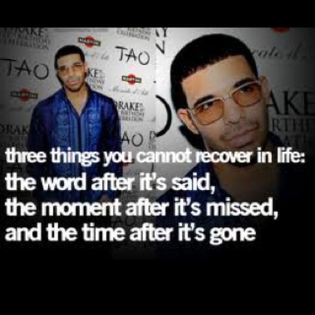 Drake....