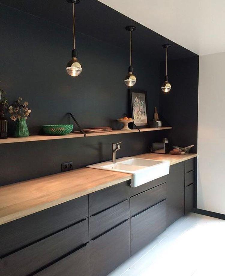 Ideen Für Die Küche, Küche Holz, Innenarchitektur Küche, Reihenhaus,  Nische, Küchen Design, Haus Küchen, Moderne Küche, Neue Häuser