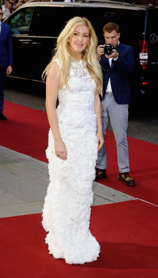 Ellie Goulding at the GQ Men Of The Year Awards at Royal