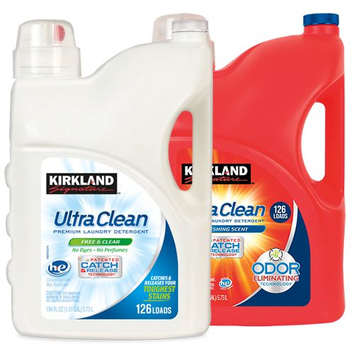 Kirkland Signature Ultra Clean Regular Or Free Clear Ultra Clean