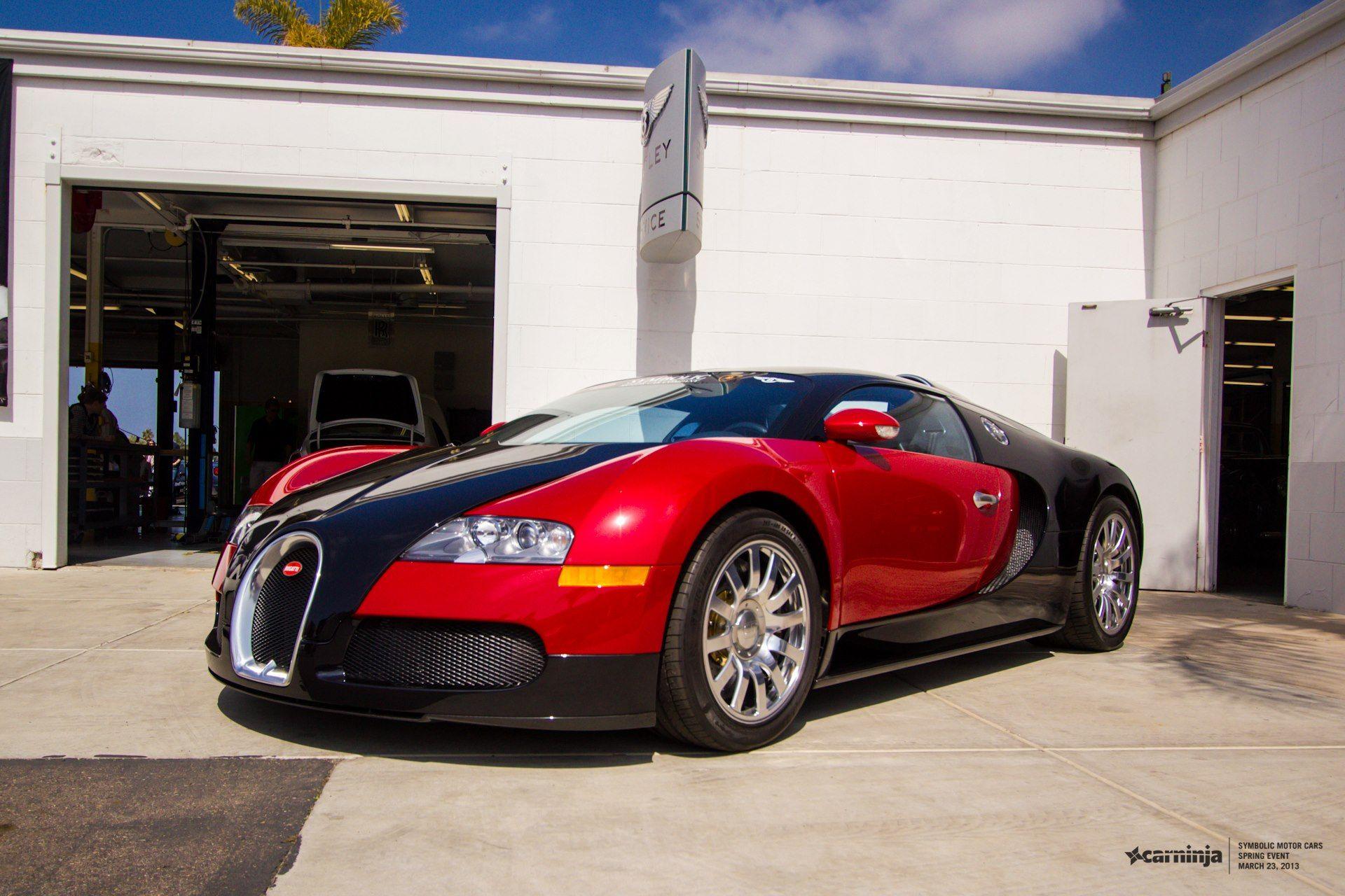Bugatti Veyron Symbolic Motors Of San Diego With Arie Osborn At