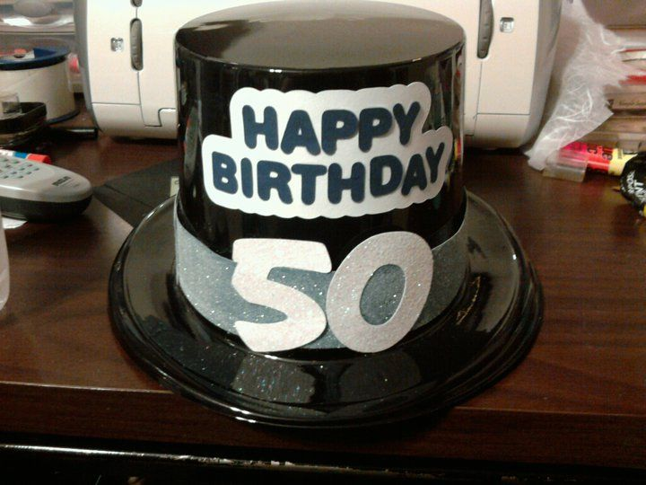 50th Birthday Hat