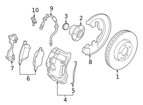 brakes front brakes for 2015 volvo v60 1 volvo parts pinterest 2005 Volvo S80 Rims brakes front brakes for 2015 volvo v60 1