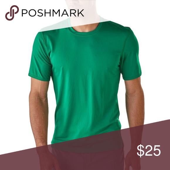 Patagonia Capilene Silkweight Green Shirt Large Brand
