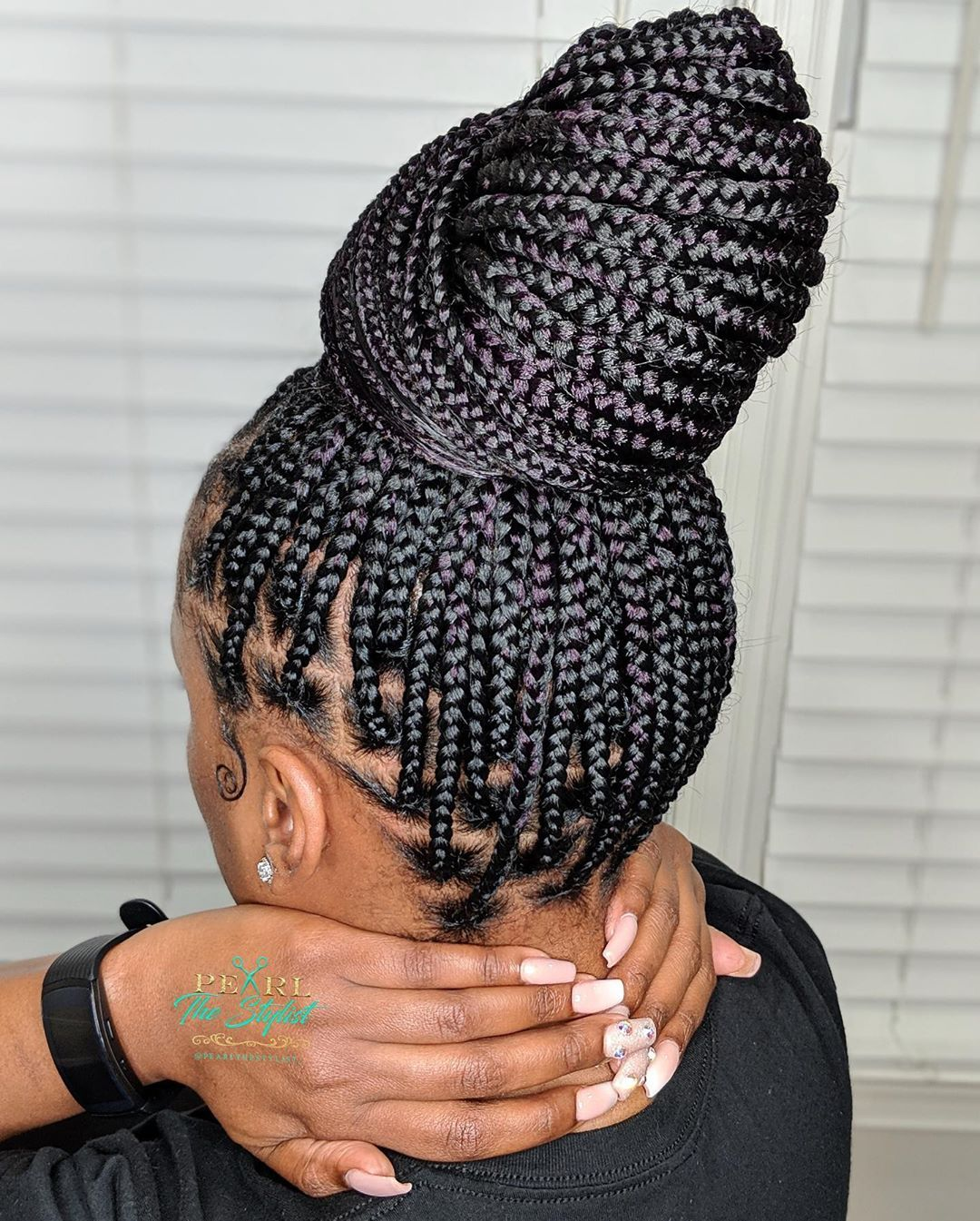Knotless Braids Vs Box Braids What They Are Tutorials Differences Hair Styles Box Braids Hairstyles For Black Women Braids Hairstyles Pictures