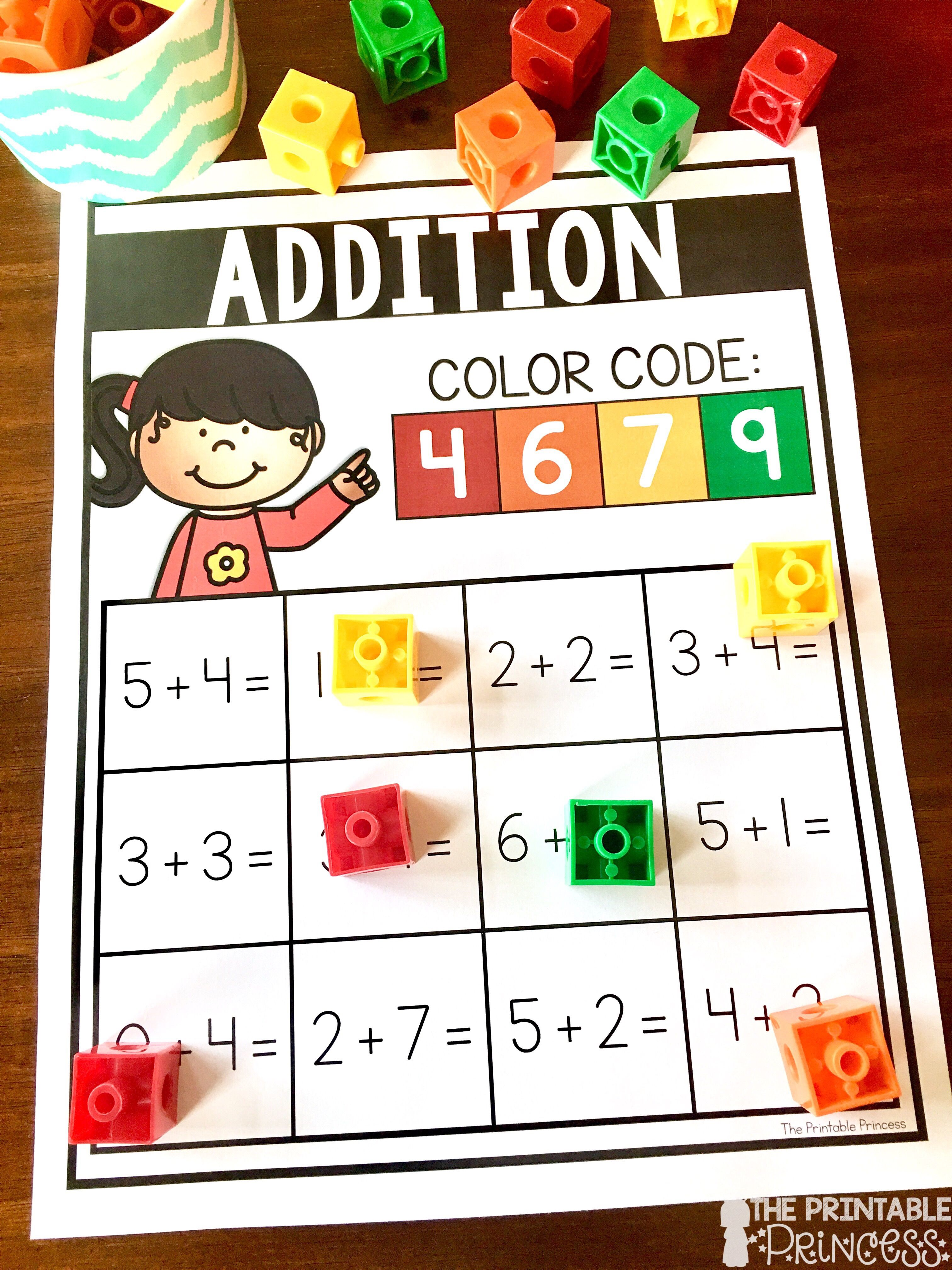 Addition And Subtraction Practice Activities