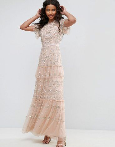 Constellation Lace Gown by Needle   Thread.