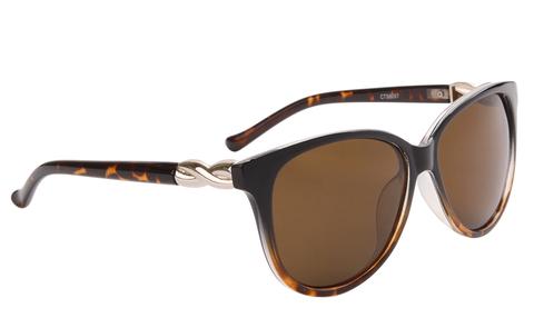 Ombre Tortoiseshell Twist Sunglasses