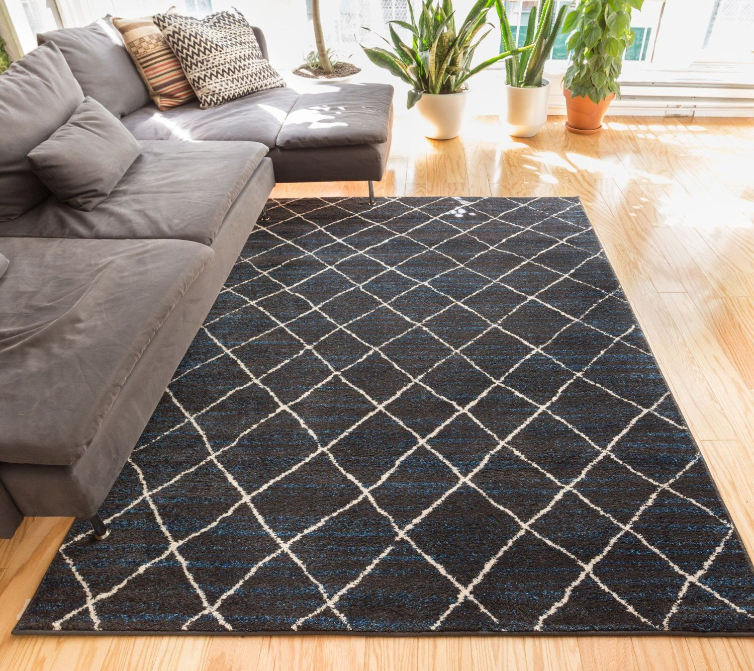 Cheshire Brown Moroccan Lattice Vintage Modern Casual Traditional