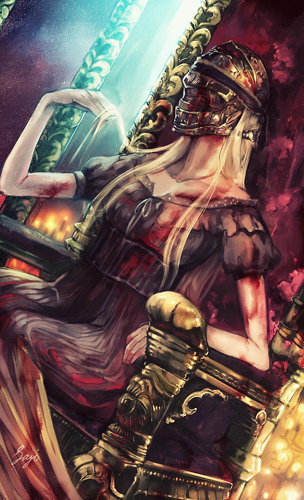 血の女王アンナリーゼ | Misc | Bloodborne art, Bloodborne