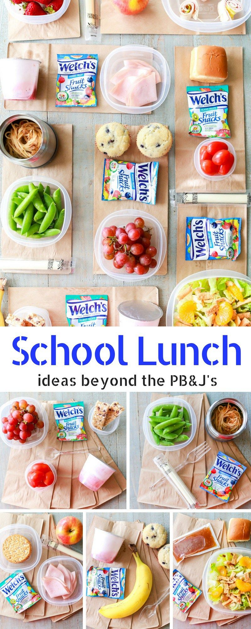 School Lunch Ideas beyond Sandwiches images