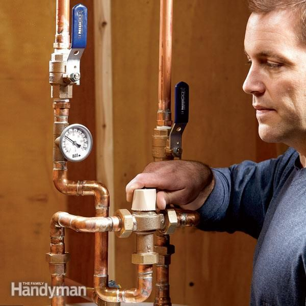 Control The Hot Water Temperature At Faucets And Showers