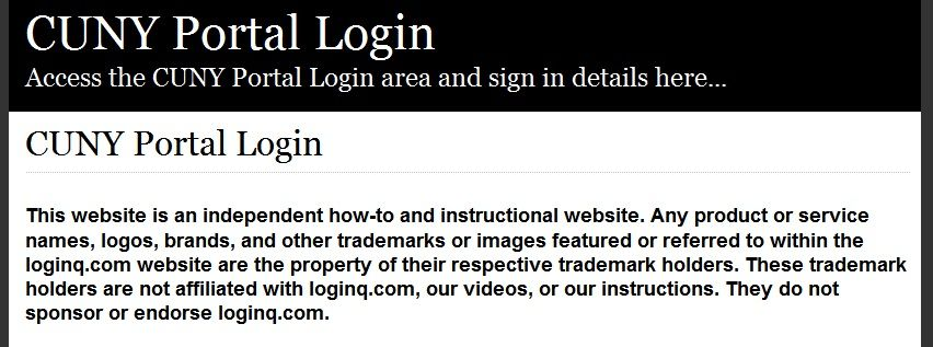 The Easiest Cuny Portal Login Application Status {Tiburon Es Rojos}
