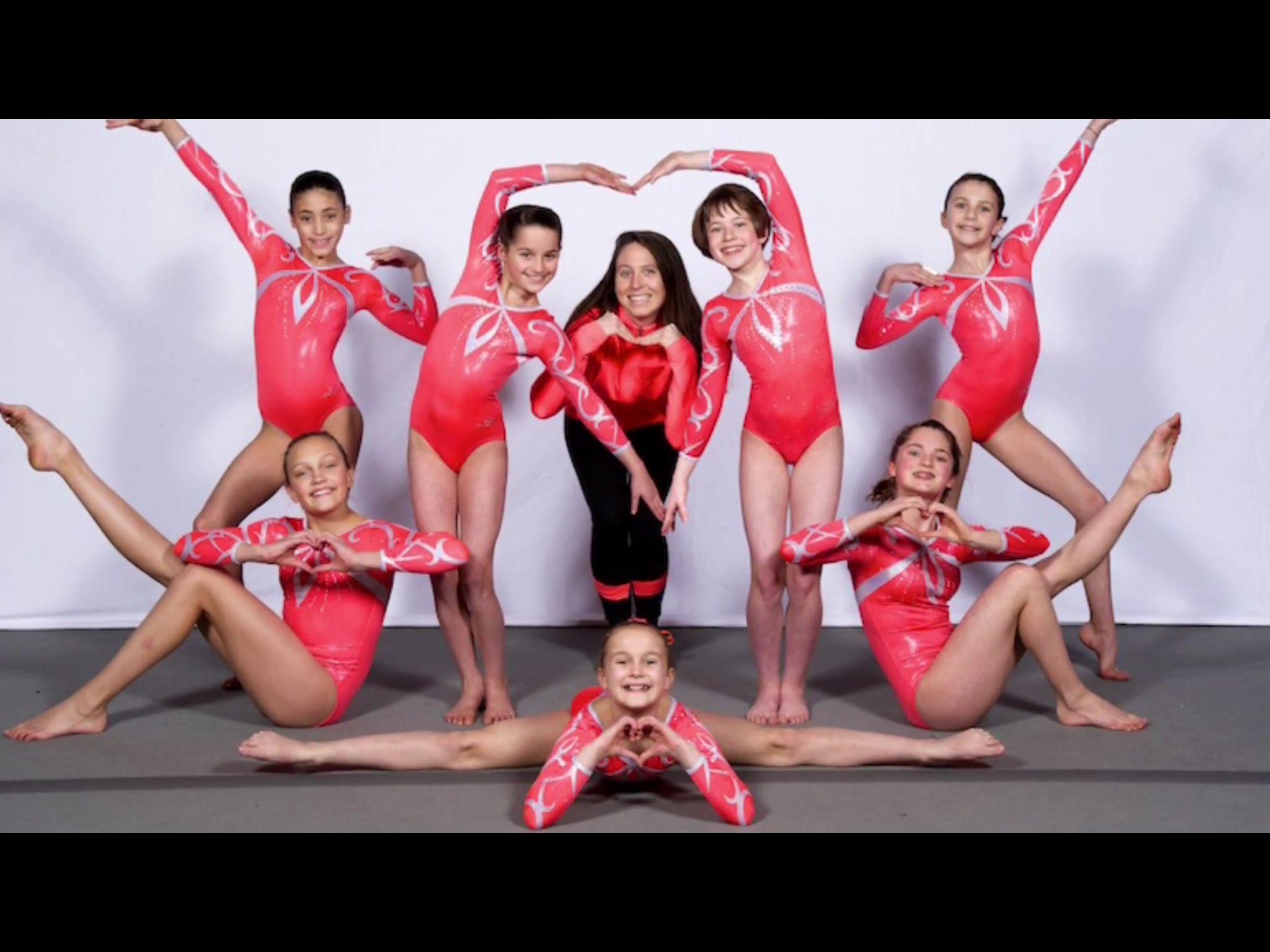 annie the gymnast level 8 meet