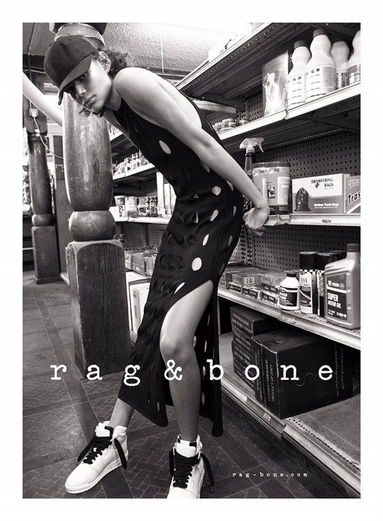 Fashion Copious - Malgosia Bela & Binx Walton for Rag & Bone SS 2016 Campaign by Glen Luchford