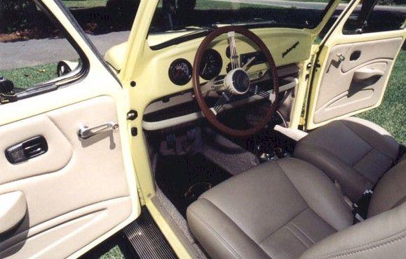 volkswagen beetle custom interior. Black Bedroom Furniture Sets. Home Design Ideas