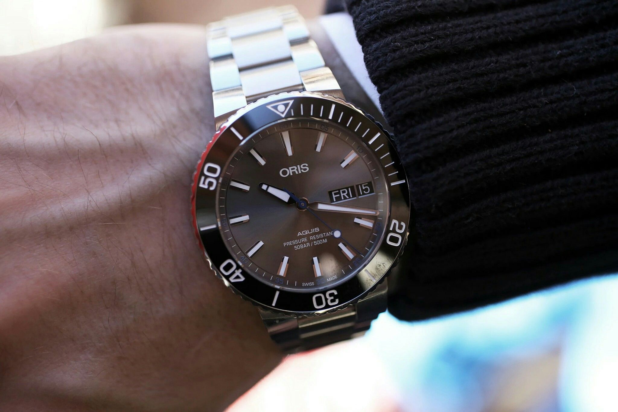 036379975ebe The Oris Aquis Hammerhead Limited Edition Diver   Timekeepers