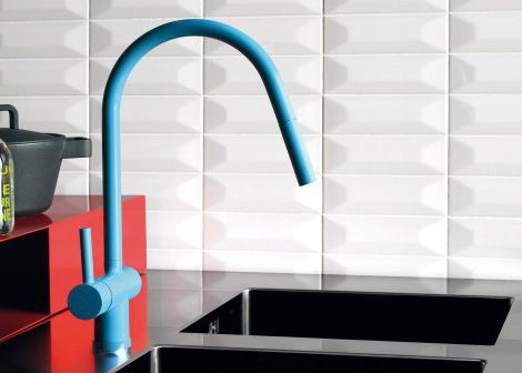 Colorful Kitchen Faucets From Zucchetti Kitchen Faucet Colorful