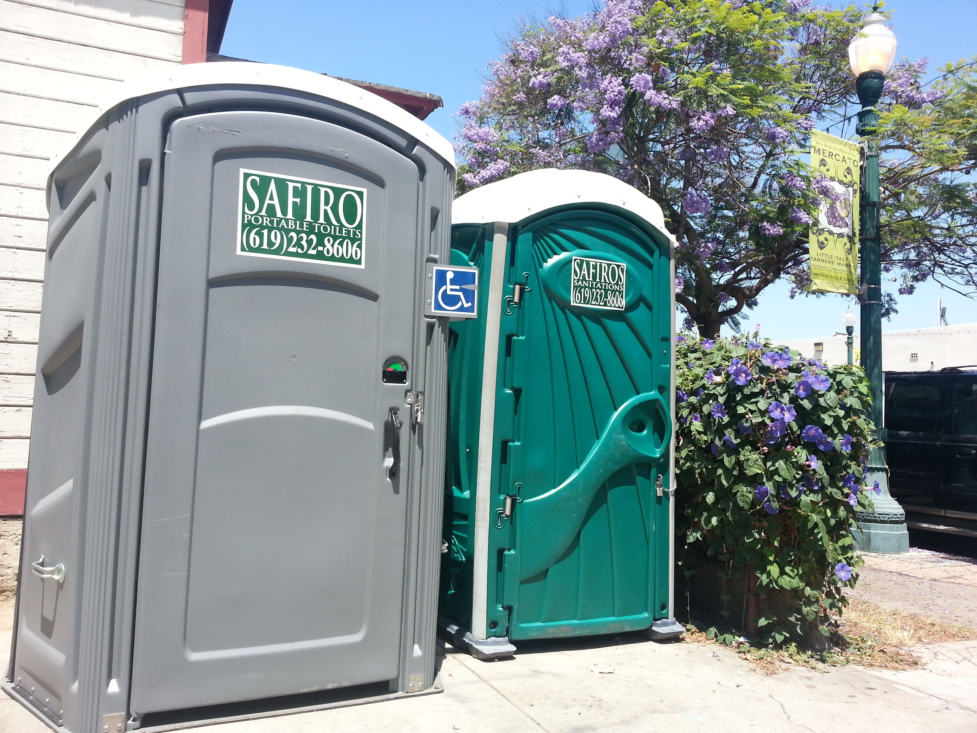Safiro S Portable Toilets San Go California Is A