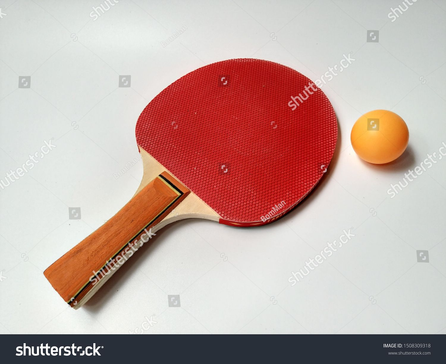 Racket And Ball For Table Tennis Ping Pong Vector Illustration Table Tennis Ping Pong Ping