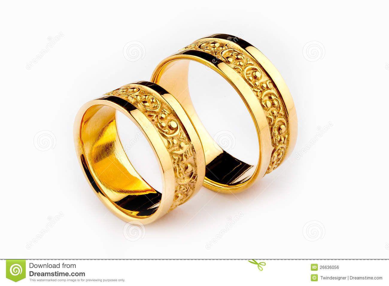 Pair Of Wedding Rings Stock Photo Image 12631400 Feeling