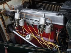 1933 MG L-Type Magna Sports Roadster, 41 bhp, 1,086 cc OHC inline six-cylinder engine, four-speed manual transmission