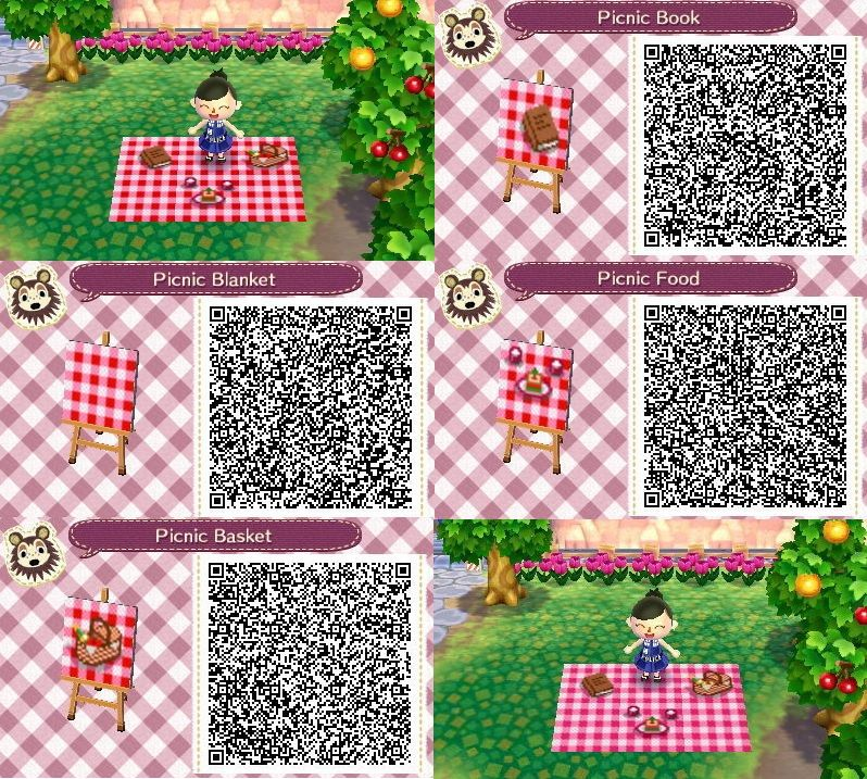 Animal Crossing Custom Design Picnic Blanket