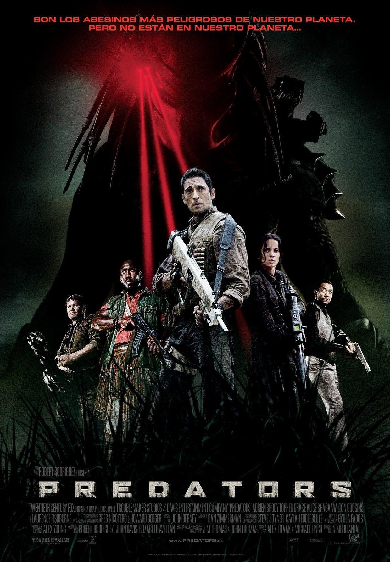 Ver Predators Online Gratis 2010 Hd Pelicula Completa Espanol Predator Movie Poster Predator Movie Predator Full Movie