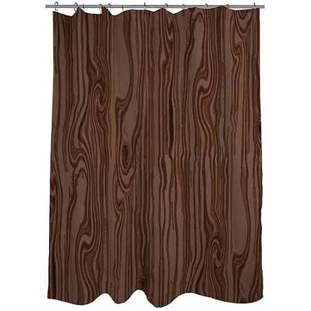 coral and brown shower curtain. Thumbprintz Wood Grain Large Scale Brown Shower Curtain  71 X 74 Walmart Com Basement Pinterest Grain And Woods