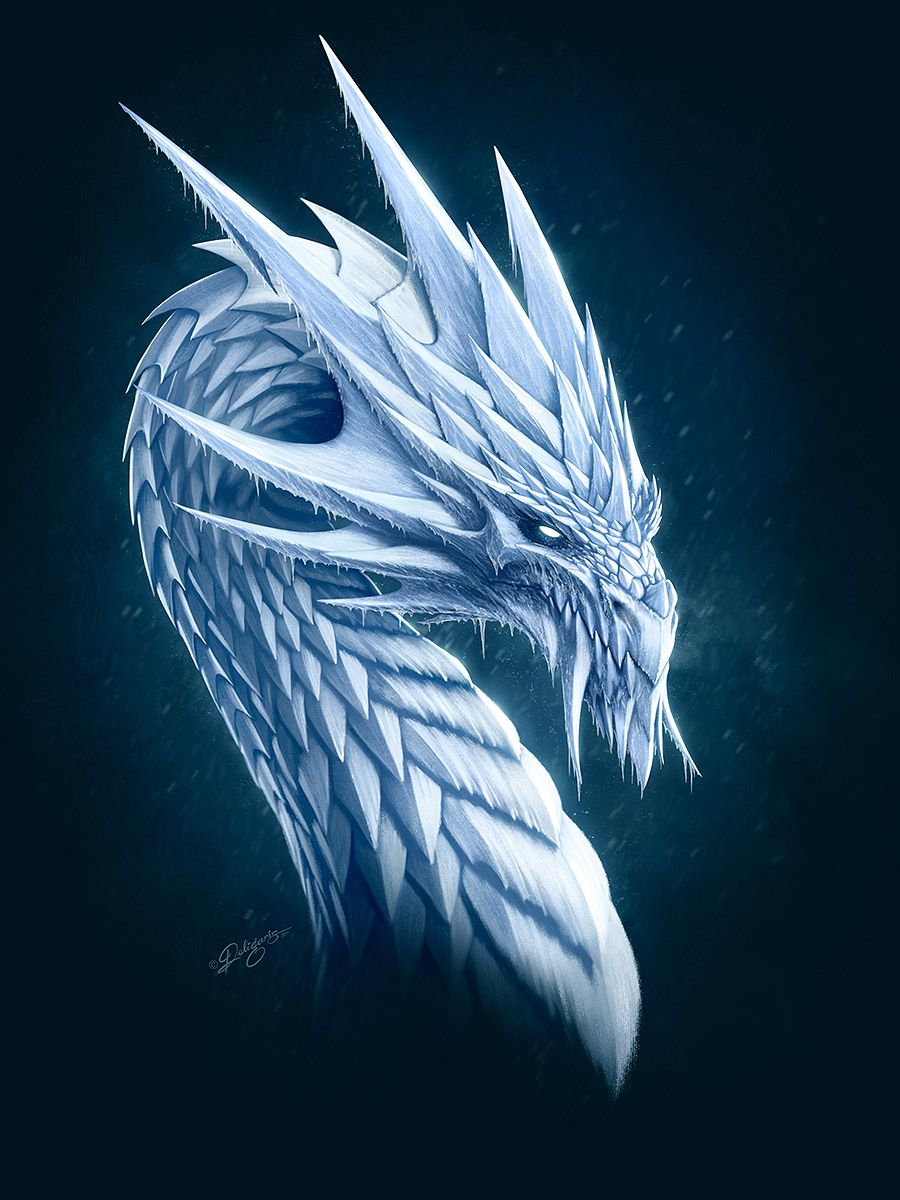 Крутые картинки дракона на аву