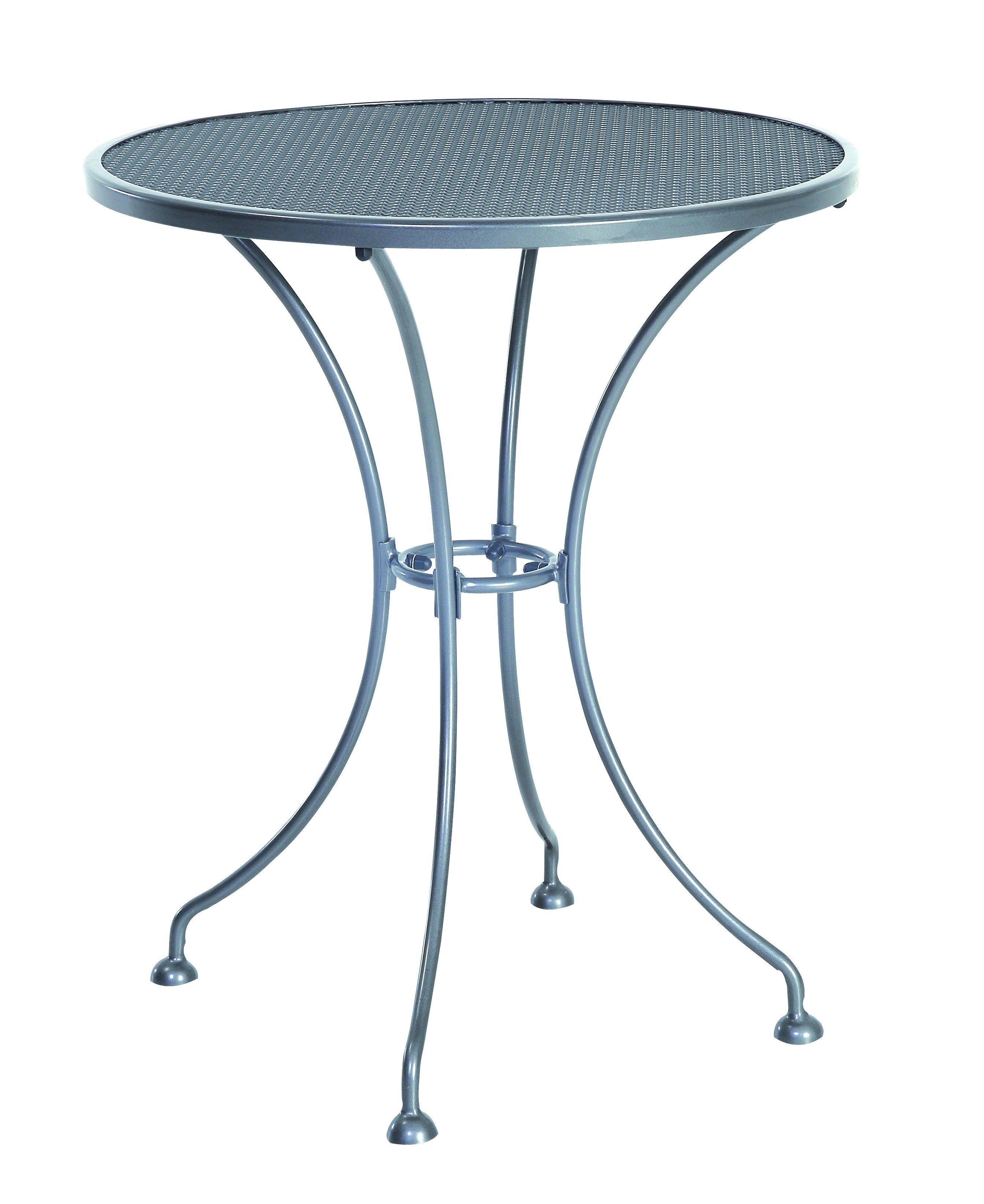 Sunvilla Corporation Steel Mesh Bistro Table, Graphite & Reviews