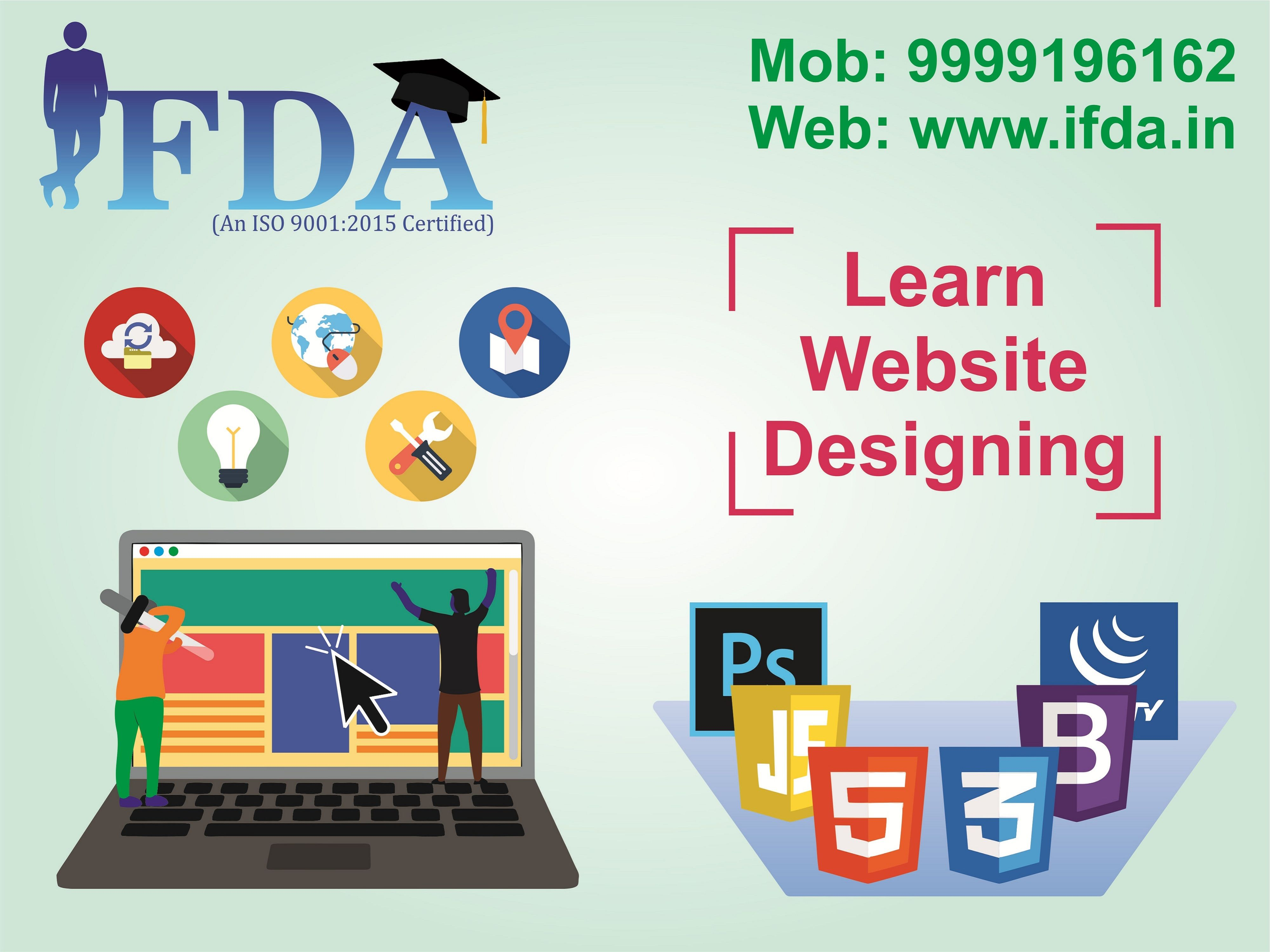 Best Web Designing Training Institute Near Me In Govindpuri South Delhi Get Enrol In The Best Website Designing Course Training In Ka Web Design Web Design Training Best Web Design