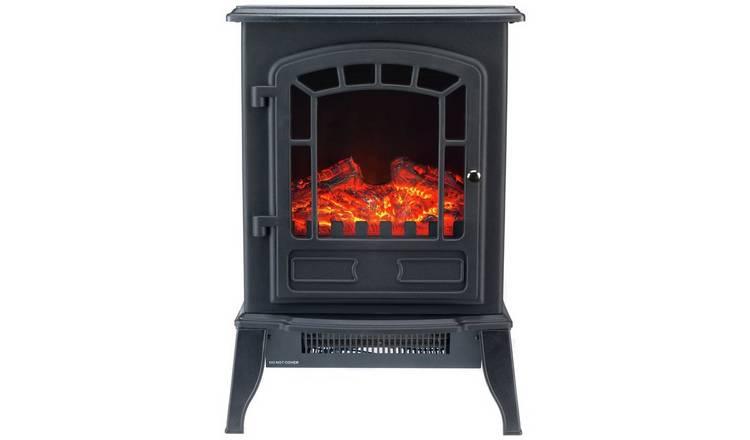 Buy Beldray Teresina 2kw Electric Freestanding Mini Stove Black Electric Fires Argos Electric Fires Stove Black Mini Stove