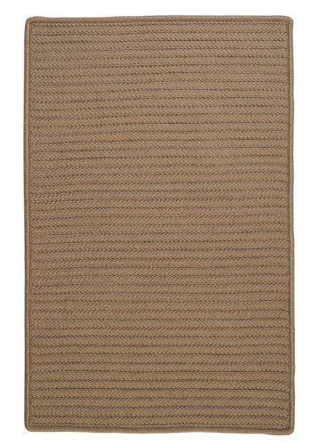 Simply Home Solids Cafe Tostado Rug Rug Size 11 X 14 By