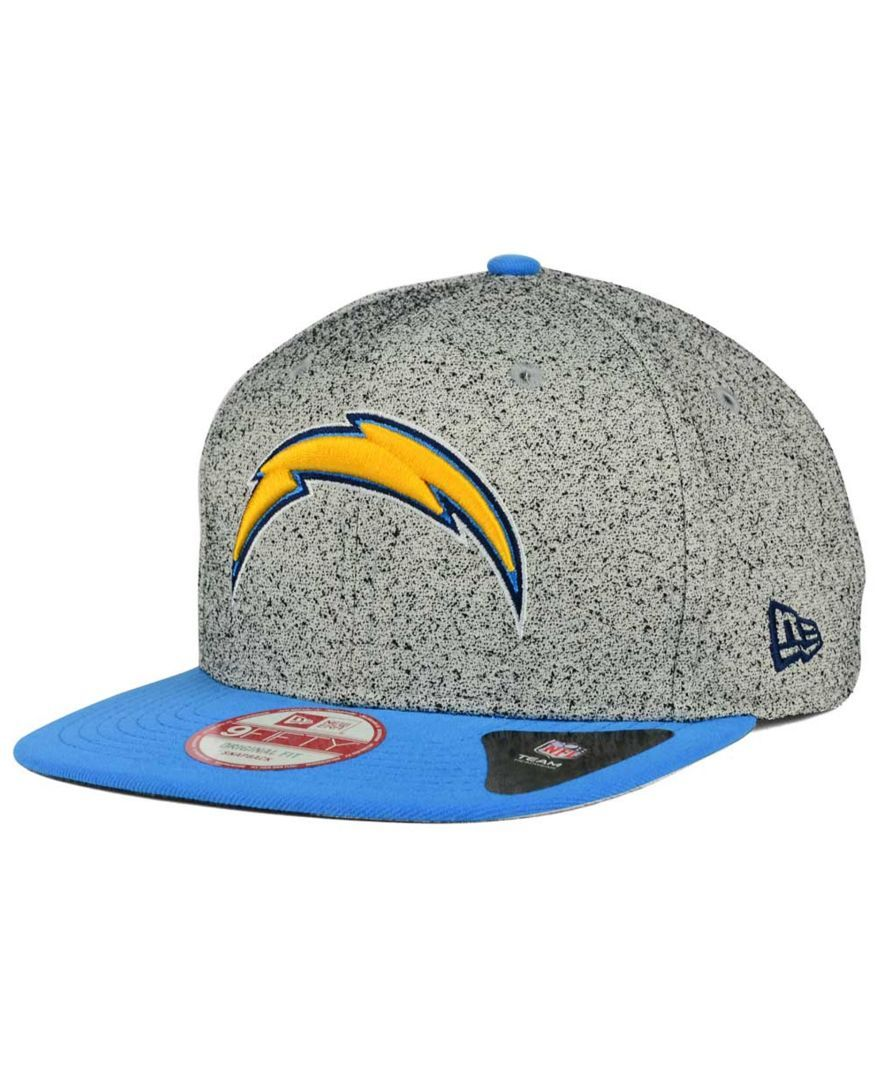 a638c308 New Era San Diego Chargers Spec 9FIFTY Snapback Cap | Clothing ...