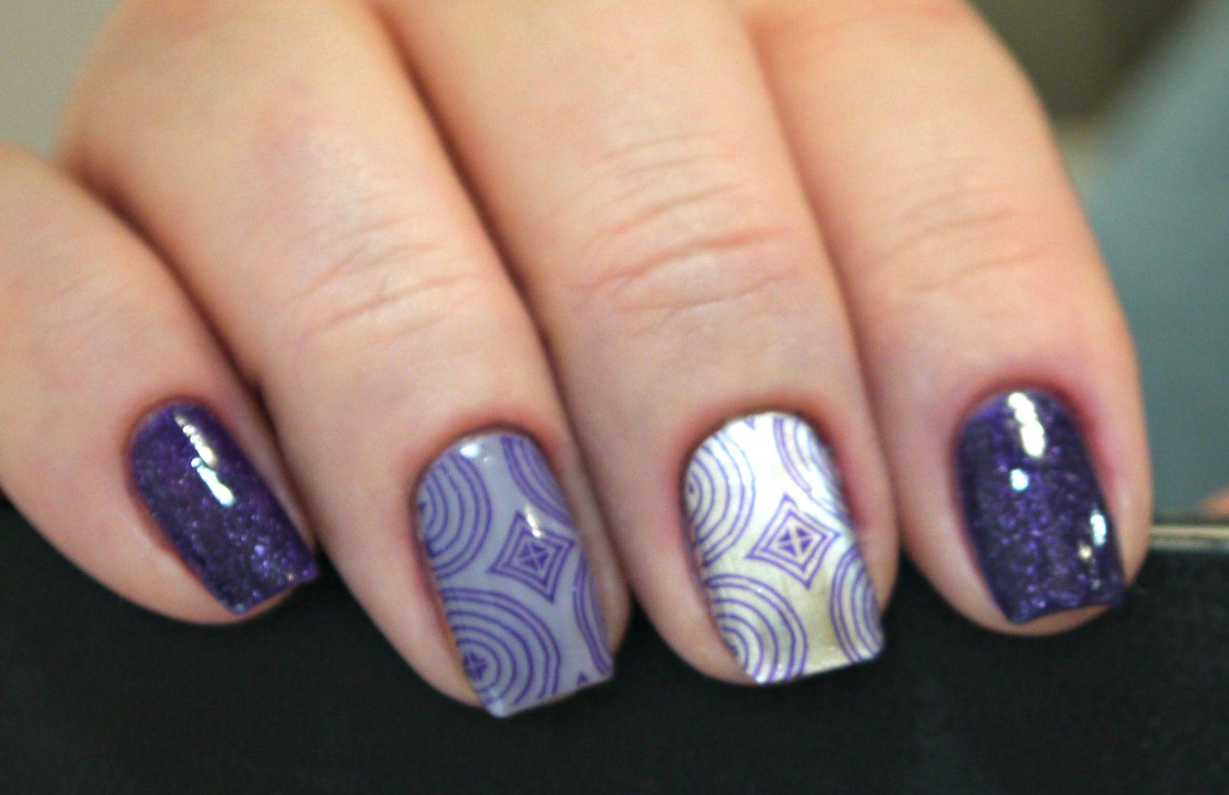 Nail art by Fairy Nail Story | STAMPING BEAUTY | Pinterest | Beauty ...